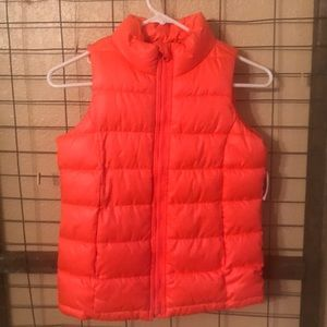 Size 8 Fall/Winter puffy vest.